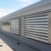 Metal ventilation grille / rectangular