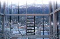 Plastic ventilation grille / rectangular