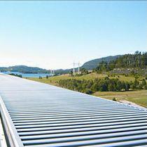 Aluminum ventilation grille / linear / adjustable