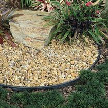 Garden edge / wall / for landscaping / rubber