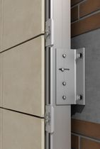 Metal fastening system / for facade claddings / for ventilated facades / exterior