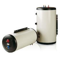 Electric hot water tank / floor-mounted / wall-mounted / horizontal
