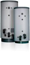Electrical hot water tank / floor-mounted / vertical / industrial