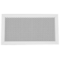 Aluminum ventilation grill / steel / rectangular