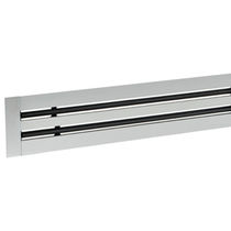 Ceiling air diffuser / linear / slot