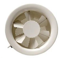 Wall-mounted air diffuser / round