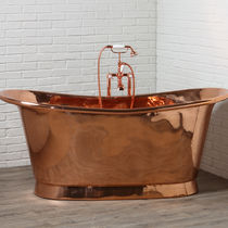 Freestanding bathtub / oval / copper