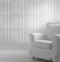 Traditional wallpaper / fabric / vinyl / monochrome