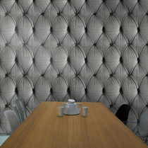 Traditional wallpaper / fabric / tufted / patterned