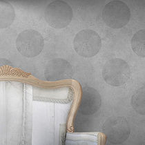 Contemporary wallpaper / geometric pattern / textured / printed