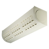 Wall-mounted air diffuser / linear