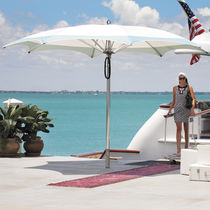Commercial patio umbrella / fabric / aluminum / stainless steel