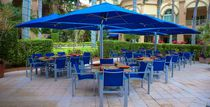 Quadruple patio umbrella / commercial / fabric / aluminum