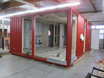 Container house / contemporary / metal / energy-efficient