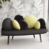 Contemporary sofa / velvet / by Constance Guisset / 2-seater