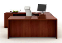 Executive desk / contemporary / in wood / commercial