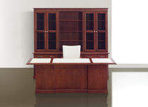 Commercial desk and storage set