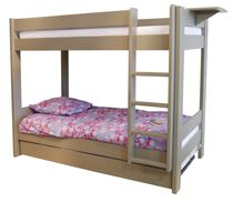 Bunk bed / single / contemporary / wooden