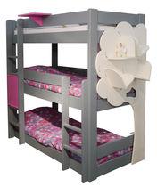 Single bed / triple bunk / contemporary / child's