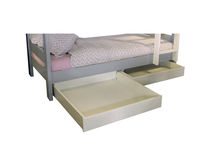 Single bed / contemporary / wooden / with drawer
