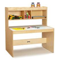 Wooden desk / contemporary / commercial / child's