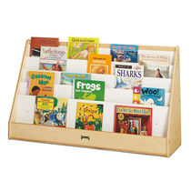 Wooden display rack / library