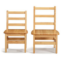 Contemporary chair / child's / hardwood / for schools