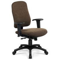 Contemporary office chair / high-back / swivel / on casters