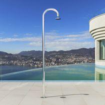 Outdoor shower / stainless steel / garden