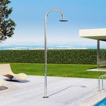 Stainless steel garden shower