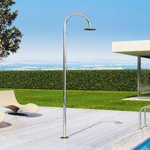 Garden shower / stainless steel