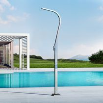 Pool outdoor shower / multi-function / stainless steel
