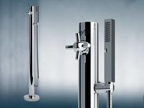 Stainless steel shower / outdoor / garden / rectangular