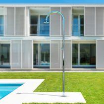 Stainless steel shower / outdoor / garden