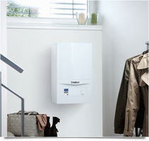 Gas boiler / wall-mounted / residential / condensing