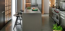 Solid Surface countertop / natural stone / kitchen / heat-resistant