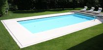 Poolside tile / pool / floor / natural stone