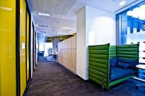 Melamine locker / combination / for public buildings / for offices