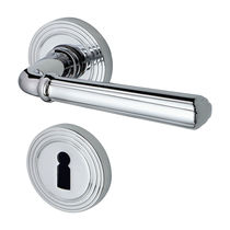 Door handle / metal / traditional / with lock