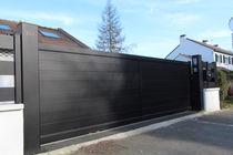 Sliding gates / aluminum / steel / panel