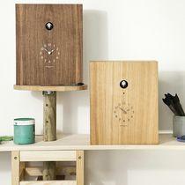 Contemporary clock / analog / wall-mounted / desk
