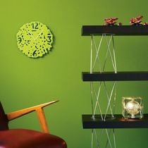 Contemporary clocks / analog / wall-mounted / Murano glass