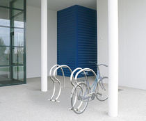Stainless steel bike rack