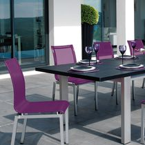 Contemporary restaurant chair / with armrests / stackable / Batyline®