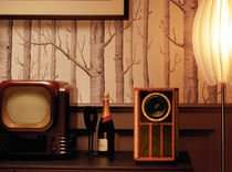 Shelf speaker / wood
