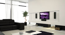 Standard home cinema system / original design / indoor / 2.1