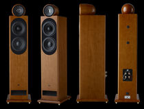 Tower speaker / wooden