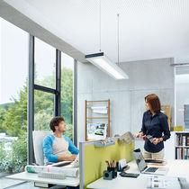 Hanging light fixture / LED / rectangular