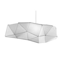 Pendant lamp / contemporary / Japanese paper / dimmable