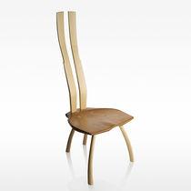Dining chair / original design / wooden